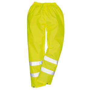 Portwest HI VIS RAIN TROUSERS YELLOW