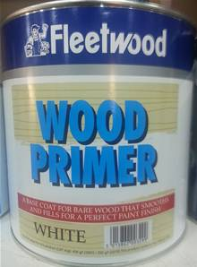 FLEETWOOD WHITE WOOD PRIMER 2.5L