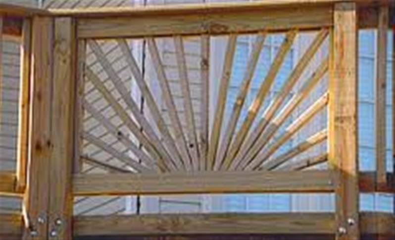 Sunburst Decking Panel 1 13x0 765m Treated Amp Planed