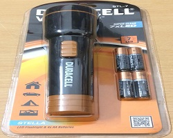 Duracell Voyager Stella Torch