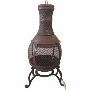 redwood bronze chiminea - Garden Furniture Galway