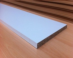 "8' x 12"" White Chipboard Panel"