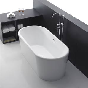 Apollo Free Standing Bath White - 1700 x 800 mm