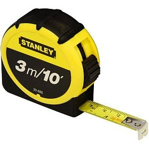 STANLEY 3M 10FT TAPE MEASURING 030686