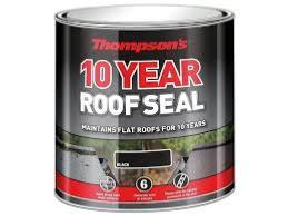 THOMPSONS ROOF SEAL 4LT BLACK
