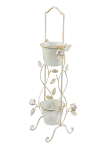 Gardman English Rose 2 Tier Pot Planter