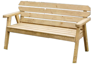 HAMPTON BENCH 4FT