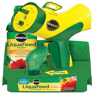 MIRACLE GROW LIQUAFEED STARTER KIT