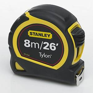 STANLEY 8M/26FT MEASURING TAPE 030656