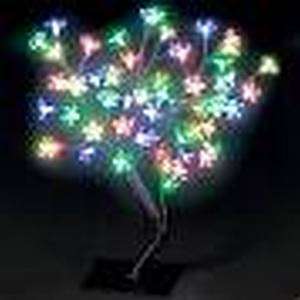 45CM LED CHERRY BLOSSOM TREE MULTI-COLOURED