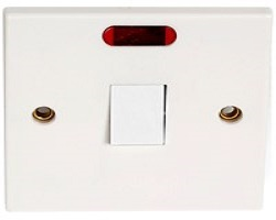Cooker Switch C/W Neon Light
