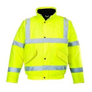Portwest HI VIS BOMBER JACKET YELLOW