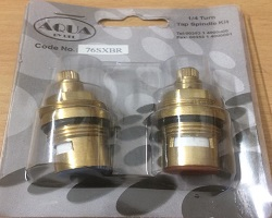 Aqua 1/4 Turn Tap Spindle Pair Pack
