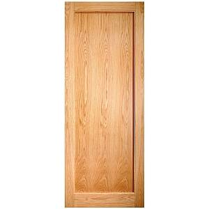Indoors OAK SHAKER 1PANEL 6'8X2'8 DOOR