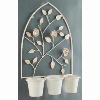 Gardman English Rose Triple Wall Planter