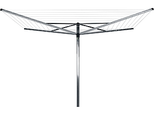 BRABANTIA 40M 4 ARM ROTARY CLOTHES LINE