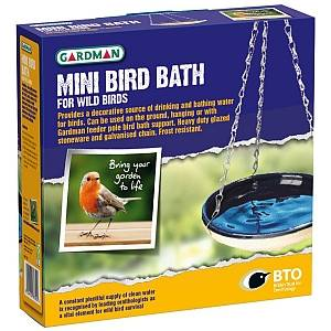 GARDMAN MINI BIRD BATH