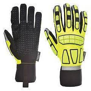 Portwest A724YER SAFETY IMPACT GLOVE