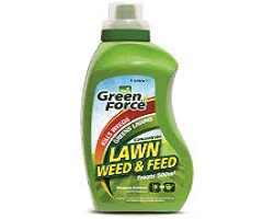 Greenforce Lawn Weedkiller & Feed 1L