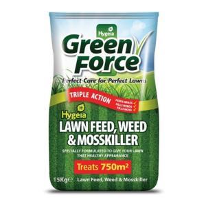Greenforce Lawn Feed, Weed & Mosskiller - 15kg