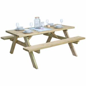 Independent Fencing Pressure Treated Heavy Duty Picnic Bench