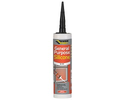 Everbuild General Purpose Silicone Black 310ml