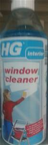 HG WINDOW CLEANER 0.5 LTR
