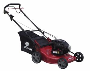 "World 18"" Self Drive Lawnmower - Steel Deck"