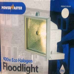 400w Floodlight Eco halogen white