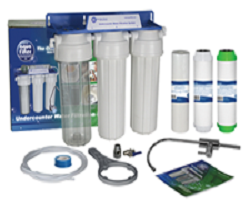 Aquafilter 3 Stage Undersink Water Filter Kit