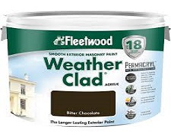 Fleetwood Weather Clad Masonary Colours - 10 Litre