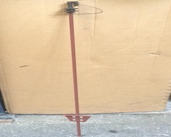 Electric Fence Metal Pigtail Stake