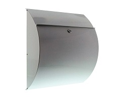 Burg Riviera Stainless Steel Post Box