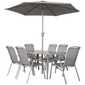 Vermont Napoli 6 Seater Rectangular Garden Furniture Set