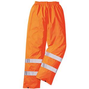 Portwest HI VIZ TRAFFIC TROUSERS ORANGE