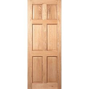 SEADEC WESTPORT 6 PANEL OAK PRE FINISHED DOOR