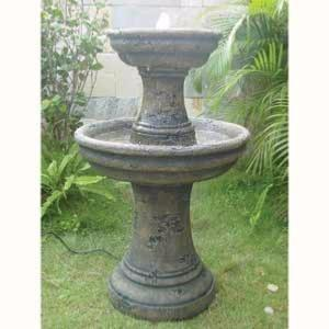 Aoife 2 Tier Bronze Traditional Water Feature