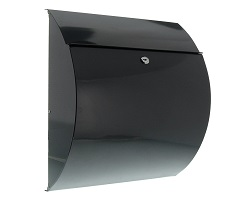 Burg Riviera Anthracite Post Box