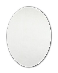 Tema Bevelled Oval Mirror