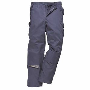 PORTWEST T886 TALL NAVY WORKMAN TROUSERS