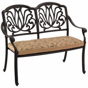 Amalfi Cast Aluminum 2-Seater Bench