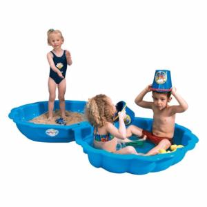 Blue Shell Sand Pit Only With Lid