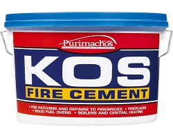 Kos Fire Cement Black 2KG