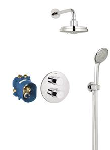 Grohe 3000 Cosmo Round Plate System