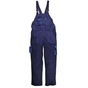 Portwest ENGINEERS COTTON BIB & BRACE NAVY