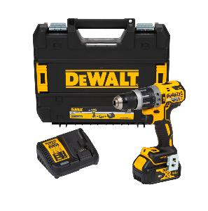 DEWALT 18V COMBI DRILL WITH 1 X 4.0AH LI-ION BATTERY