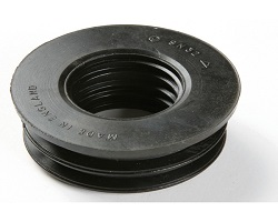 "Soil Rubber Reducer 4"" x 40/32MM"