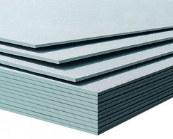 8' x 4' x 12.5mm Moisture Proof Plasterboard