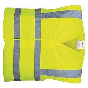 HI VIS BAND & BRACE VEST YELLOW S/M