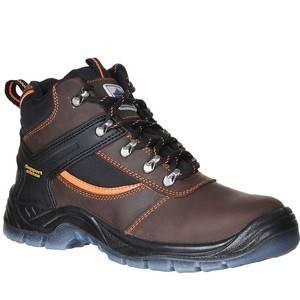 Portwest FW69 STEELITE MUSTANG BOOT S3 Brown